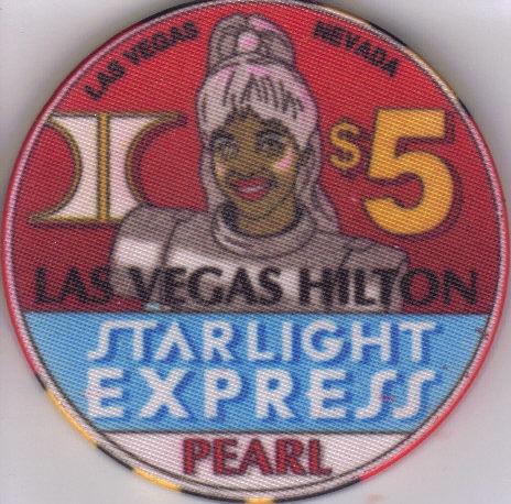 $5 STARLIGHT EXPRESS: PEARL Hilton Casino Chip Bonanza