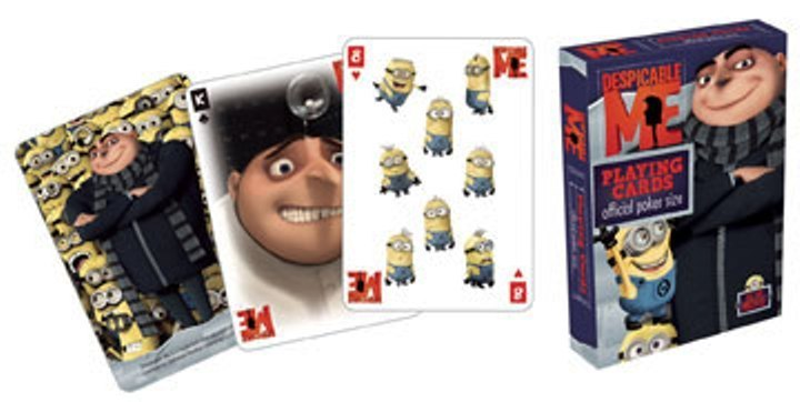 DESPICABLE ME OFFICIAL COLLECTABLE POKER PLAYING CARDS