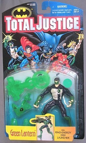 DC Comics Total Justice Green Lantern action figure Generic