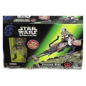 Star Wars Power of the Force Speeder Bike with Princess Leia Generic