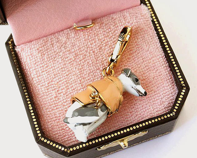 Juicy Couture Greyhound In Trench Charm Bonanza