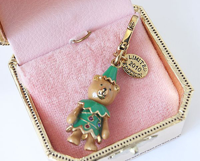 Juicy Couture 2010 Limited Edition Teddy Tree Charm Bonanza