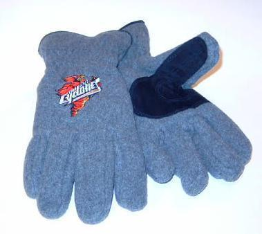 Iowa State Cyclones Mens Lined Fleece Gloves sz Large Bonanza