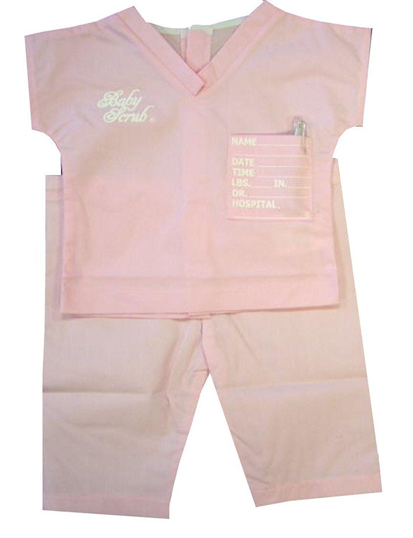 Baby Scrubs, Pink - Pink