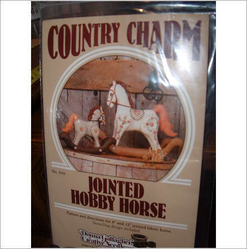 COUNTRY CHARM JOINTED HOBBY HORSE PATTERNS Bonanza
