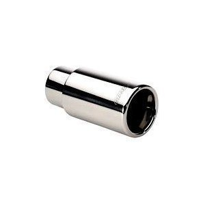 Gibson Exhaust Tail Pipe Tip Polished Rolled Stainless Steel Aftermarket