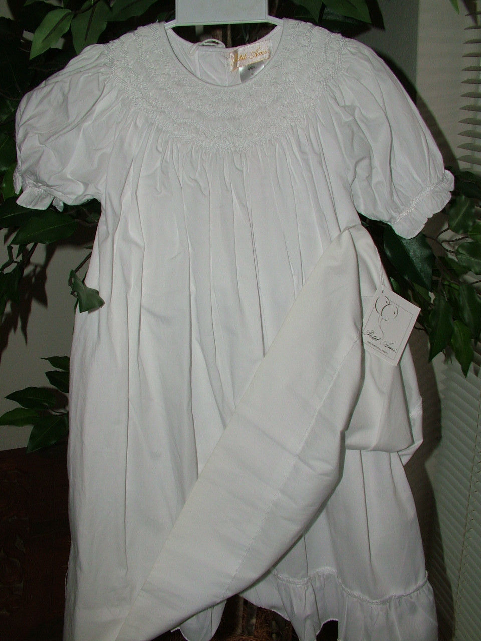 Image 1 of Gorgeous Petit Ami White Heirloom Boutique Lined Party Dress, Wedding - White -