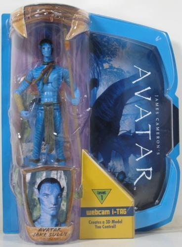 AVATAR JAKE SULLY COLLECTABLE FIGURINE & WEBCAM I-TAG  Generic