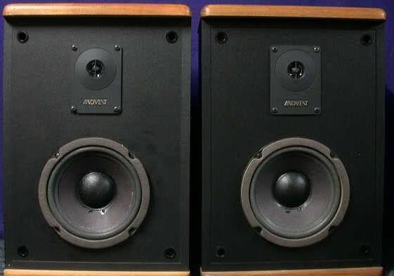 baby advent ii bookshelf speakers 50 watts home. Black Bedroom Furniture Sets. Home Design Ideas