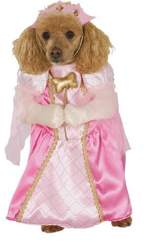 Image 0 of Rubies Costume Halloween Classics Collection Pet Costume, Pretty Princess, Pink