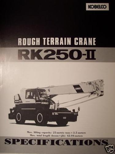 Terrain Crane Hs Code : Ad