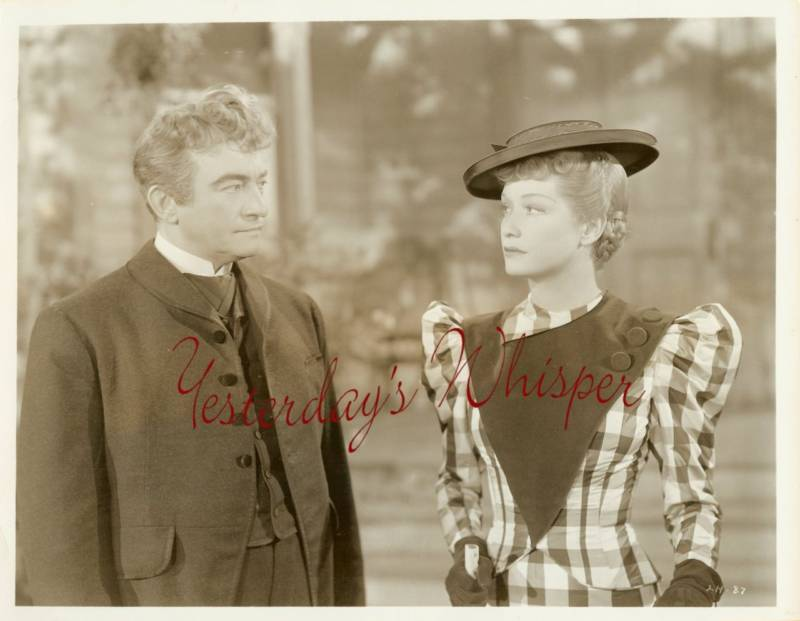 Miriam HOPKINS Claude RAINS Lady w/RED HAIR ORG PHOTO