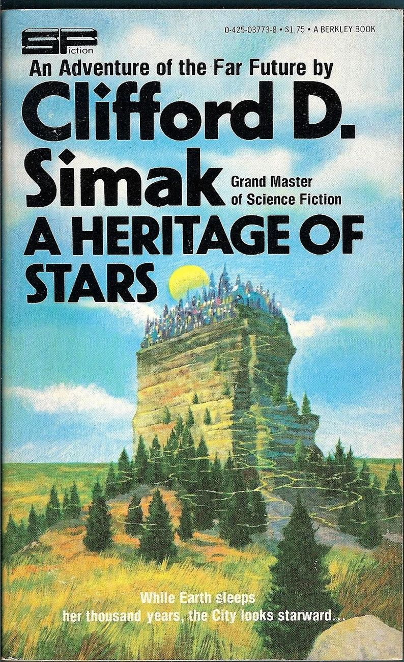 A Heritage of Stars by Clifford D. Simak 1978
