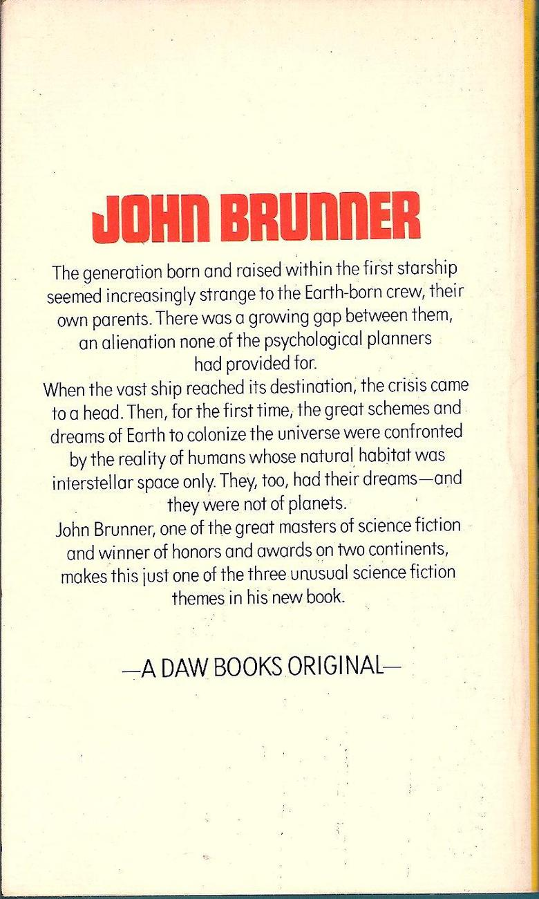 Image 1 of Entry To Elsewhen by John Brunner 1972 Science Fiction