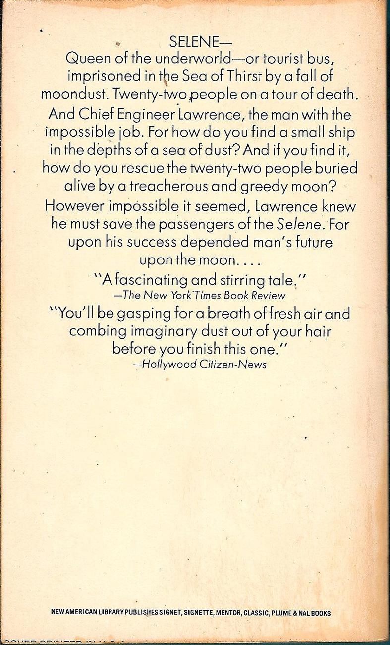 by Arthur C. Clarke 1974 ed
