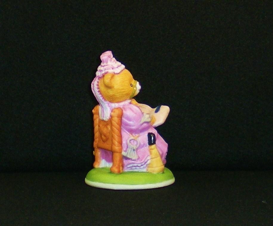 Image 1 of Mrs. Harriet Teddington porcelain bear Carol Lawson 1986