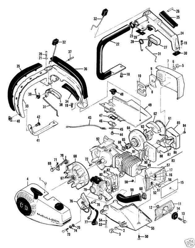69806 Flywheel Mcculloch Power Mini Mac 1 6 25 30 35 6a