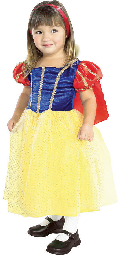 Image 0 of Rubies Snow White Cottage Princess Costume Sparkly Tulle Tutu Skirt/Red Cape - Y