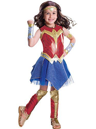 Image 0 of Wonder Woman Movie - Wonder Woman Deluxe Children's Costume