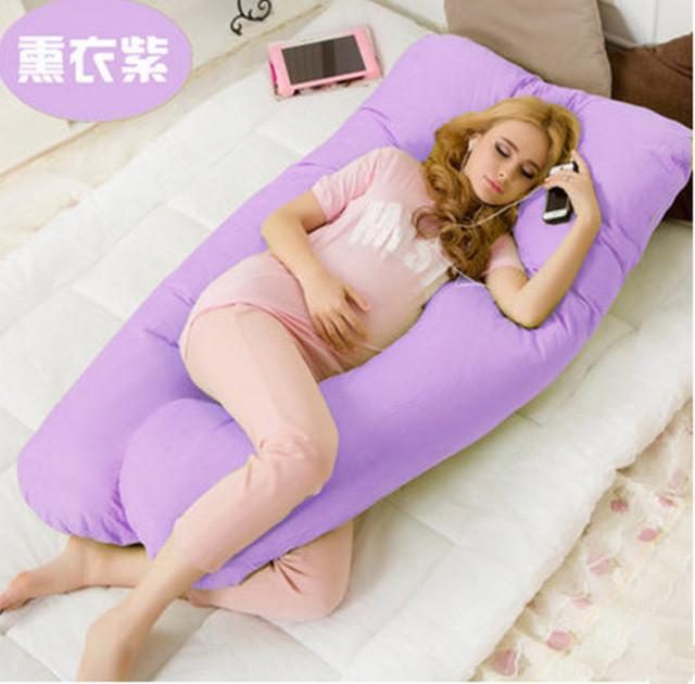 130x70cm Pregnancy - Maternity U Shaped Body Pillow - Green