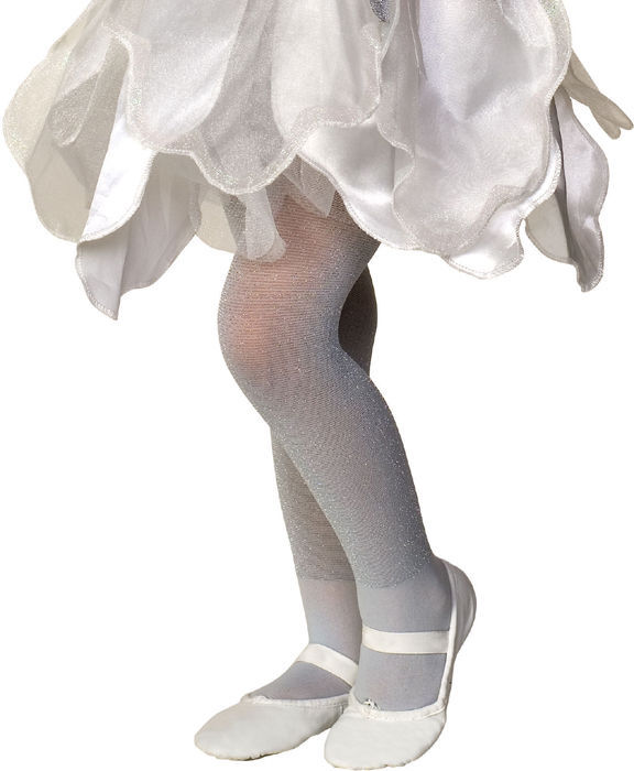 Image 2 of Rubies Girl's Fancy Fashion Dance Nylon Sparkle Tights, Blue Lavender Pink White