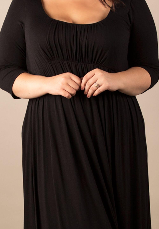 Image 2 of Sexy SWAK Designs Black Plus Size Lois Maxi Dress, Party Glamorous - Black