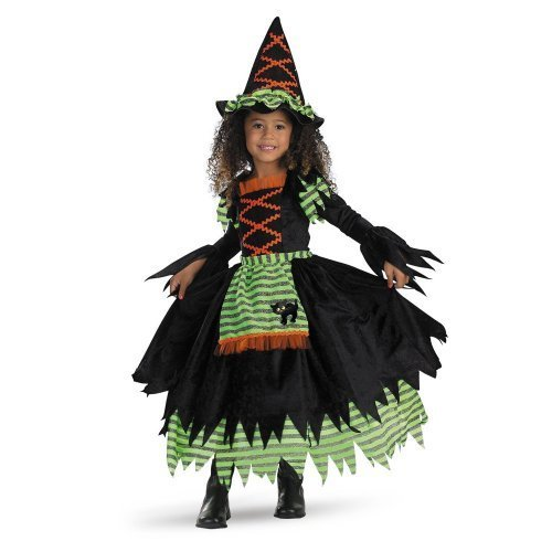 Image 0 of Story Book Witch Costume - Small (2T), Medium (3T-4T)