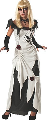 Image 0 of Rubie's Women's Scary Tales Adult Creeping Beauty Costume, Multi, Large