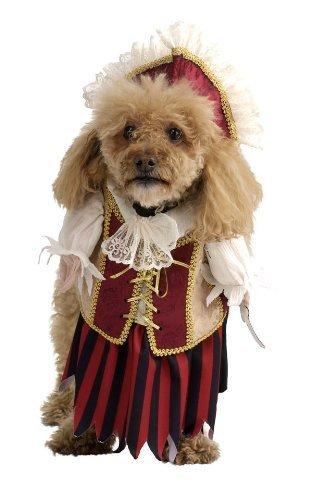 Image 0 of Rubie's Costume Co Pirate Queen Pet Costume, Medium, Medium
