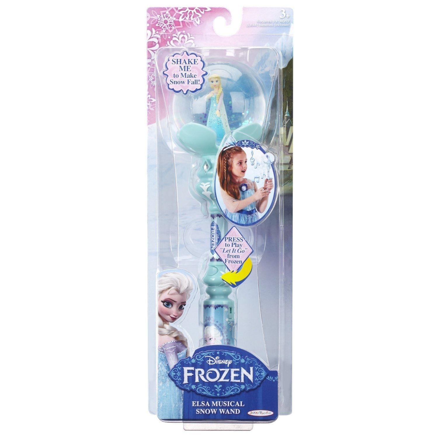 Image 0 of Precious Disney Frozen Princess Elsa Girls Blue Musical Snow Wand, 10