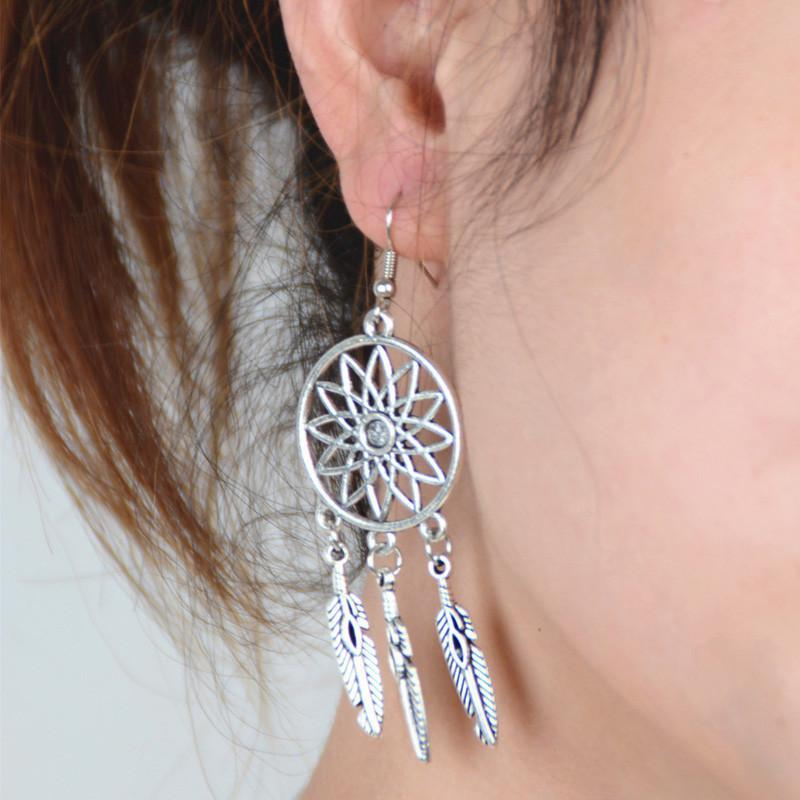 1Pair Earrings Ear Hook Stud Jewelry - Default Title