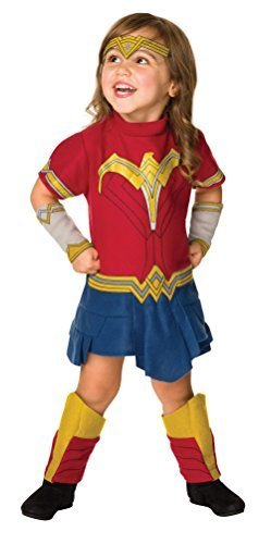 Image 0 of Rubie's Costume Justice League Wonder Romper Costume, Toddler,