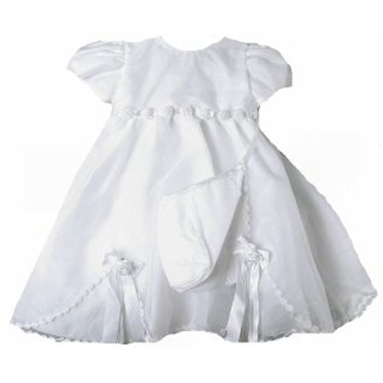 Image 0 of Stunning Baby Girl Heirloom Boutique Christening Gown & Hat Set, Unique Angels -