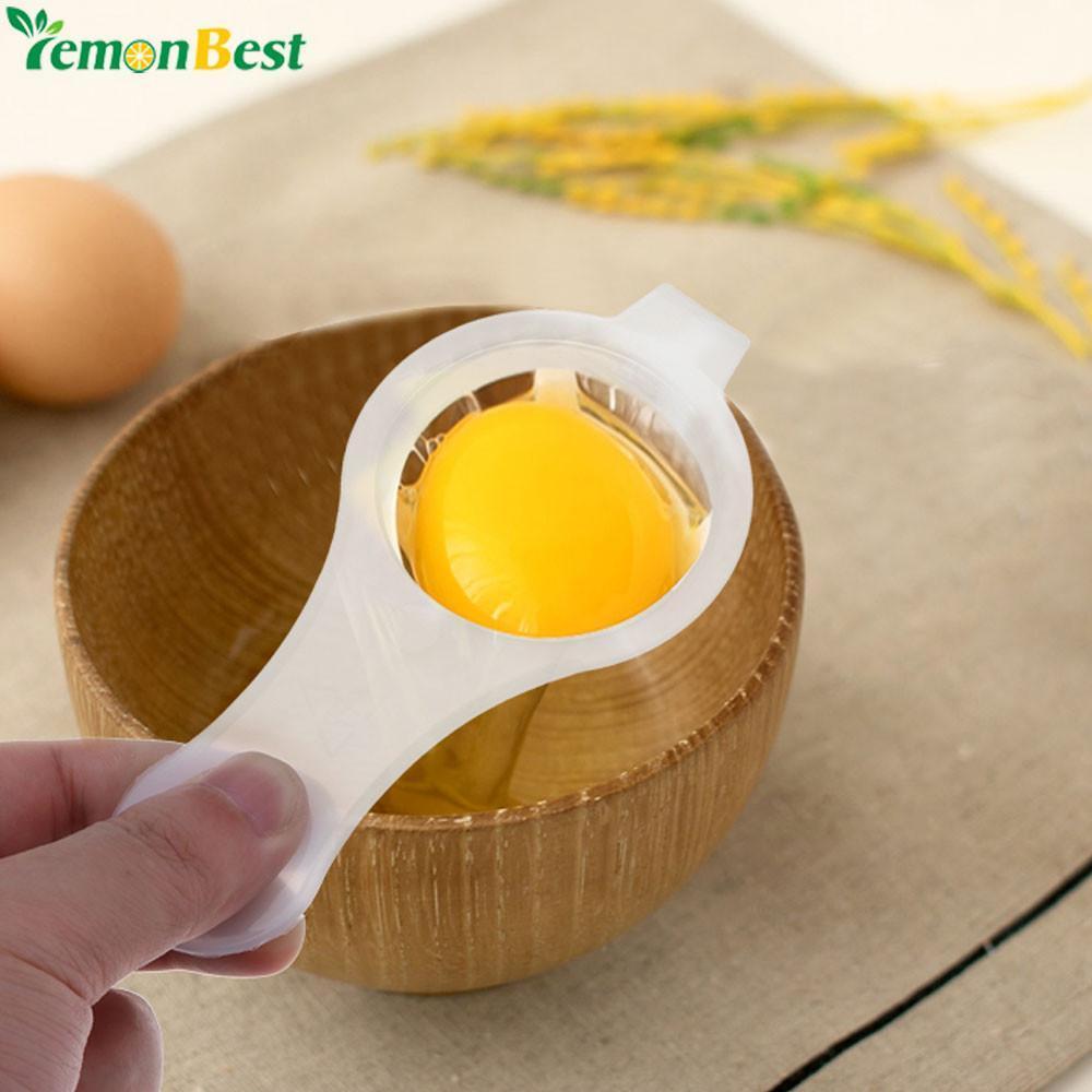 1Pc Handheld Egg Dividers Eco Friendly Egg Yolk White Separator Egg Divider Egg - Default Title
