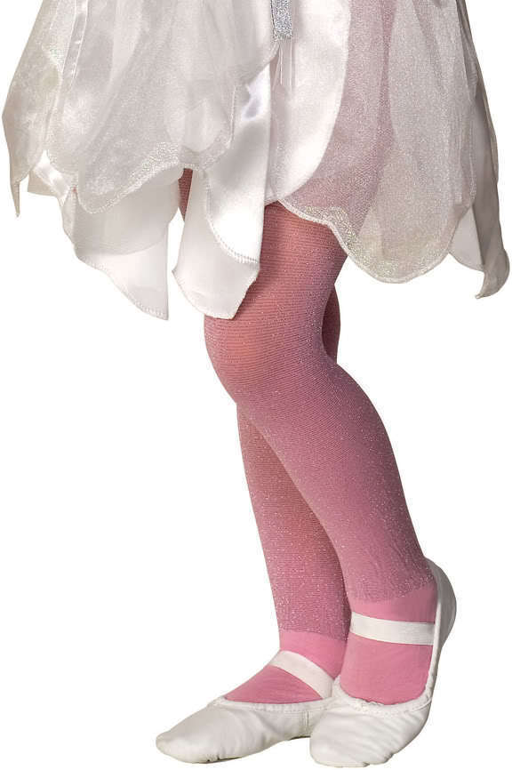 Image 4 of Rubies Girl's Fancy Fashion Dance Nylon Sparkle Tights, Blue Lavender Pink White