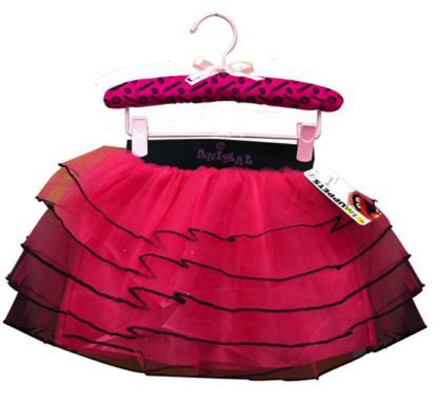 Image 3 of Too Cute Pink & Black Animal Muppet Costume Fashionista Set for Girls, One Size