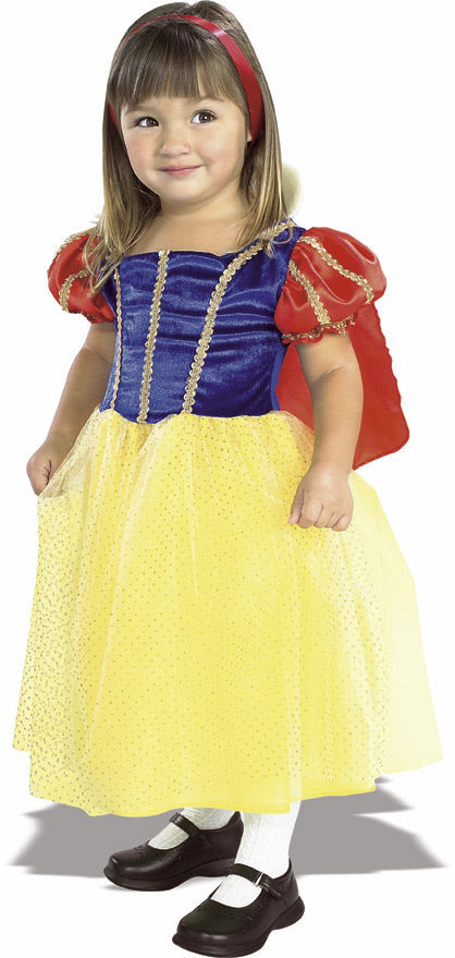 Image 2 of Rubies Snow White Cottage Princess Costume Sparkly Tulle Tutu Skirt/Red Cape - Y