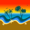 Beach_clipart_sun_falling_thumb128